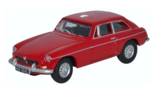 Miniatura MGBGT Tartan Red 1/76 Oxford