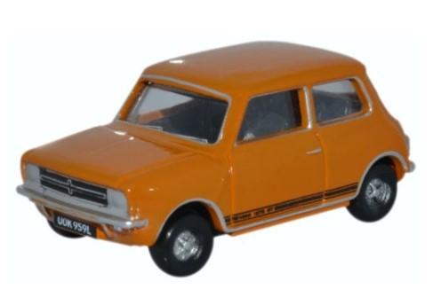 Miniatura Mini Cooper 1275GT Bronze Yellow 1/76 Oxford