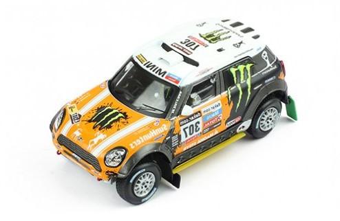 Miniatura Mini Cooper All 4 Racing 1/43 Ixo