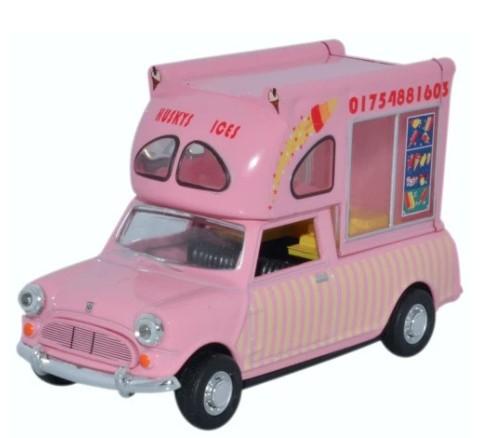 Miniatura Mini Van Huskys Ice Cream 1/43 Oxford