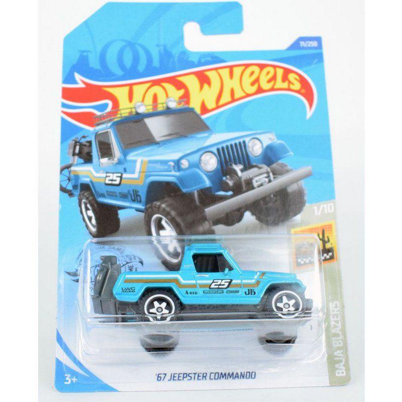 Miniatura Miniatura 67' Jeepster Commando 1/64 Hot Wheels