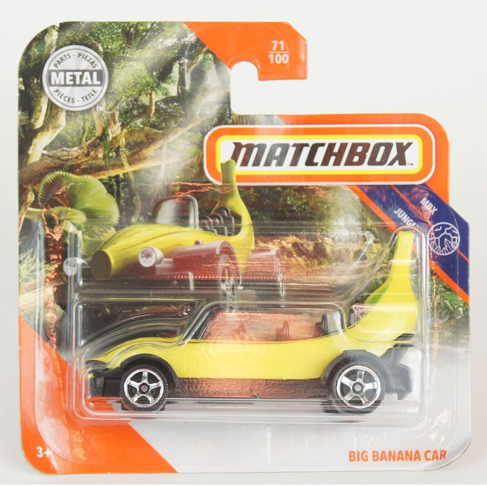 Miniatura Miniatura Big Banana Car 1/64 Matchbox