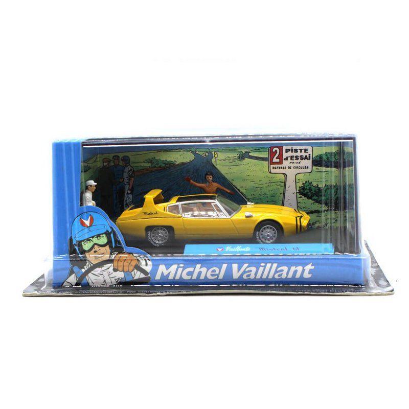 Miniatura Mistcal GT Vaillante Michel Vaillant 1/43 Ixo Altaya