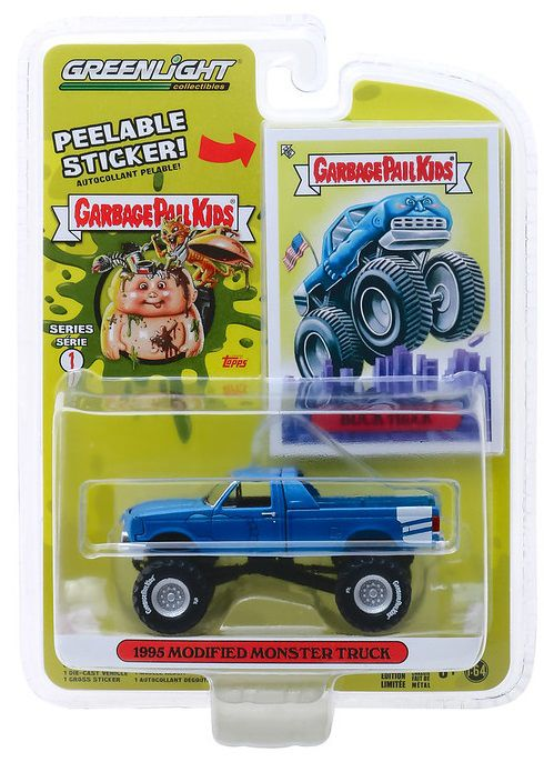 Miniatura Modified Monster Truck 1995 Buck Truck 1/64 Greenlight