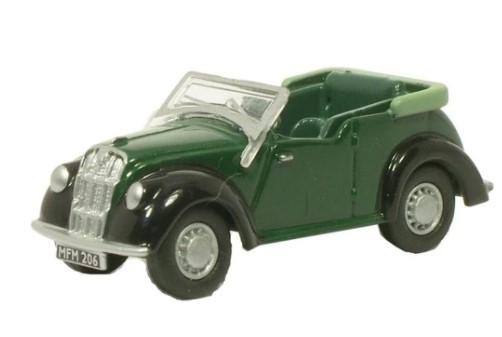 Miniatura Morris 8 Green/Black 1/76 Oxford