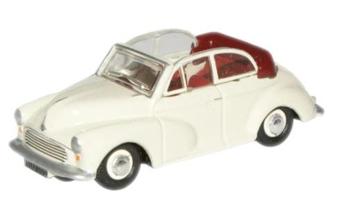Miniatura Morris Minor Convertible Open Cream 1/76 Oxford