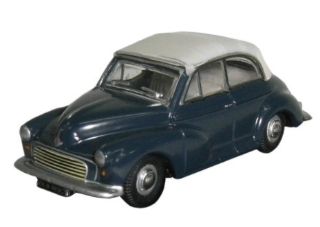 Miniatura Morris Minor Grey 1/76 Oxford