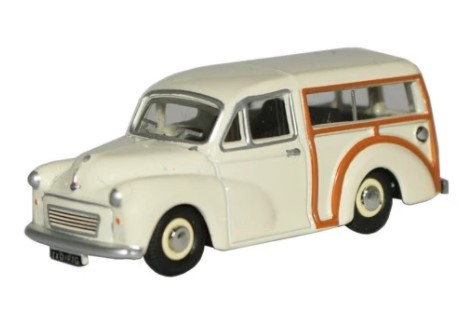 Miniatura Morris Traveller Old English White 1/76 Oxford