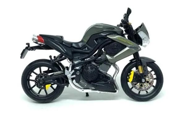 Miniatura Moto Benelli Tnt 1130 Century Racer 1/12 Maisto