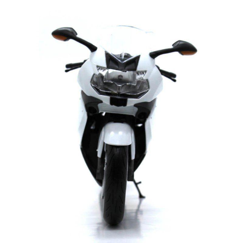 Miniatura Moto BMW K1300S 1/10 Welly - Pequeno Defeito