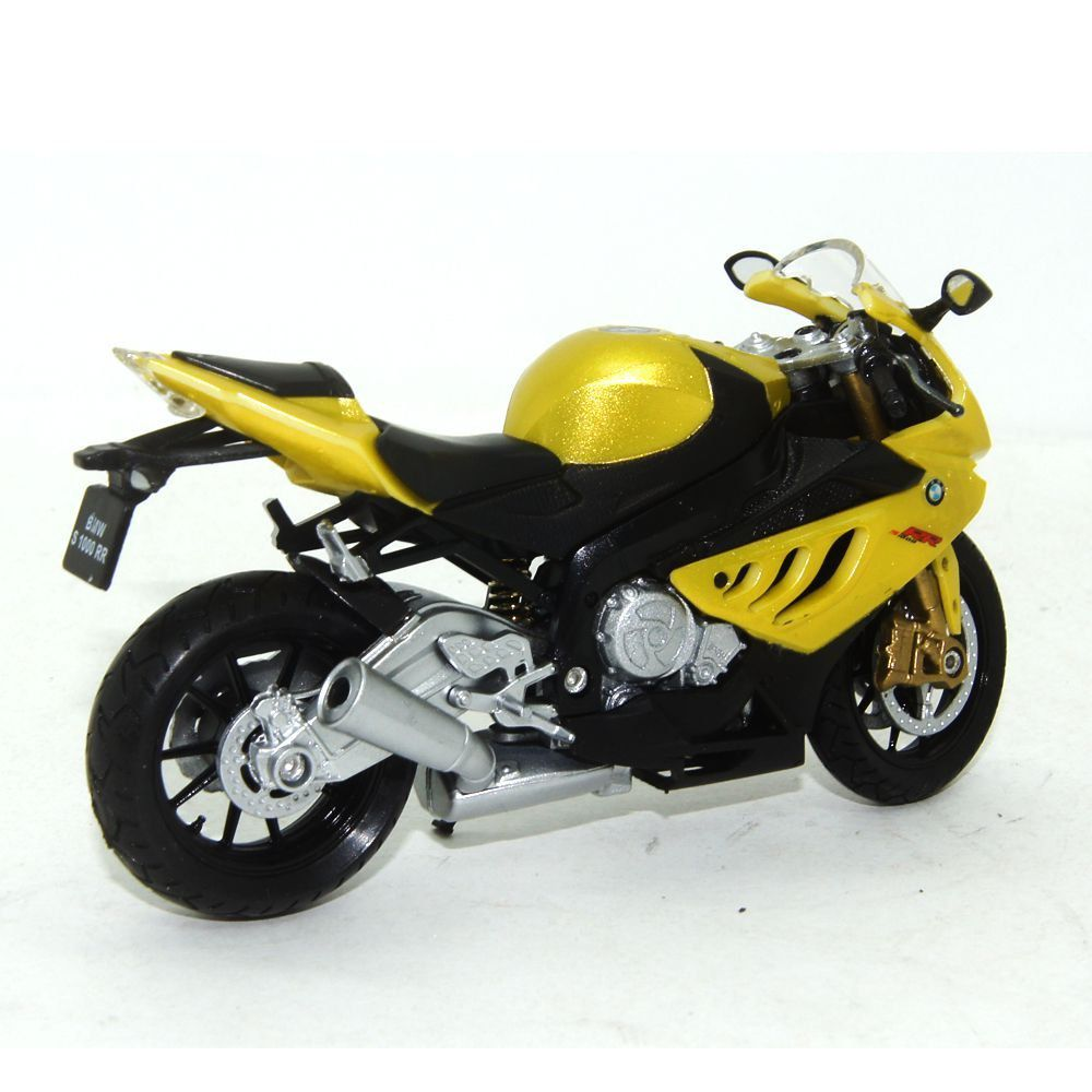 Miniatura Moto BMW S1000RR 1/18 California Cycle