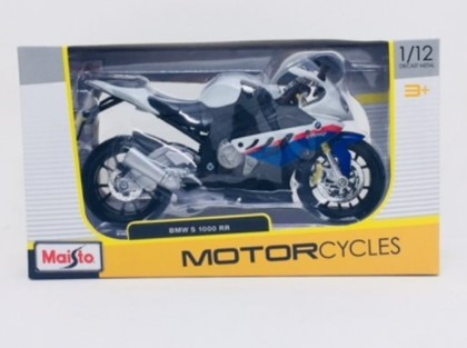 Miniatura Moto BMW S 1000 RR 1/12 Maisto