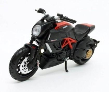 Miniatura Moto Ducati Diavel Carbon 1/18 Maisto