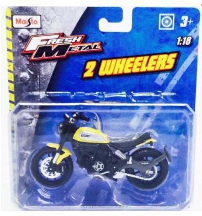 Miniatura Moto Ducati Icon Scrambler 1/18 Maisto