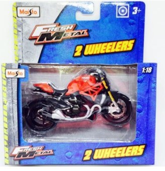 Miniatura Moto Ducati Monster 1200S 1/18 Maisto