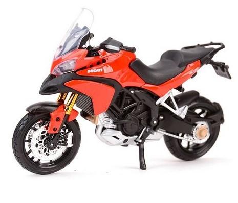 Miniatura Moto Ducati Multistrada 1200S 1/18 Maisto