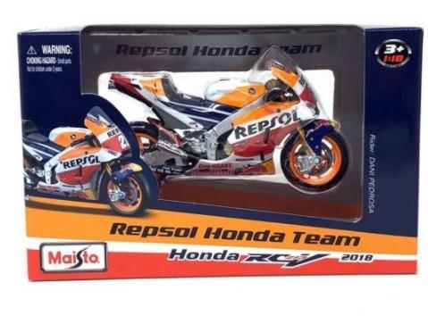 Miniatura Moto Honda Repsol RCV 213 2018 GP 1/18 Maisto