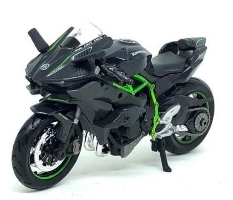 Miniatura Moto Kawasaki Ninja H2 R 1/18 Maisto