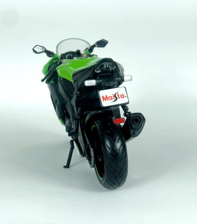 Miniatura Moto Kawasaki Ninja Zx -10r 1/12 Maisto