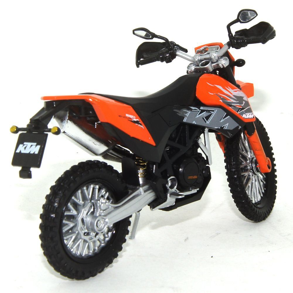 Miniatura Moto KTM 690 Enduro 1/18 California Cycle