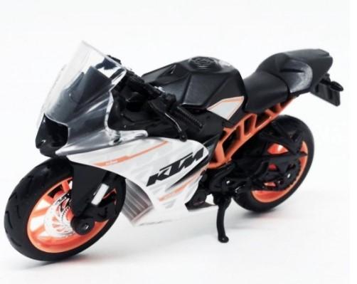 Miniatura Moto KTM RC 390 1/18 Maisto
