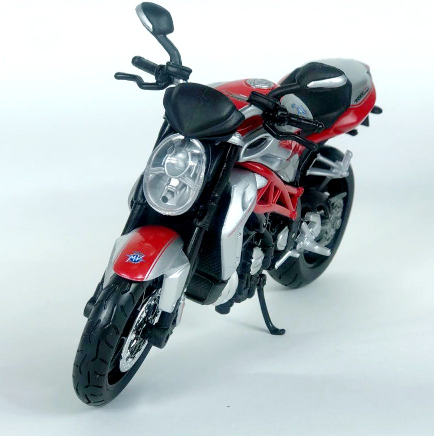 Miniatura Moto Mv Augusta Brutale 1090 R 1/12 Maisto