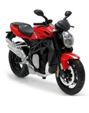 Miniatura Moto Mv Augusta Brutale 1090 RR 1/12 Maisto