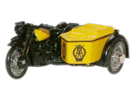 Miniatura Moto Sidecar AA BSA 1/76 Oxford