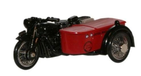 Miniatura Moto Sidecar Royal Mail 1/76 Oxford