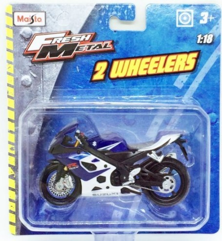 Miniatura Moto Suzuki GSX-R1000 1/18 Maisto