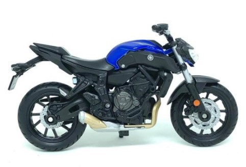 Miniatura Moto Yamaha MT-07 2017 1/18 Maisto