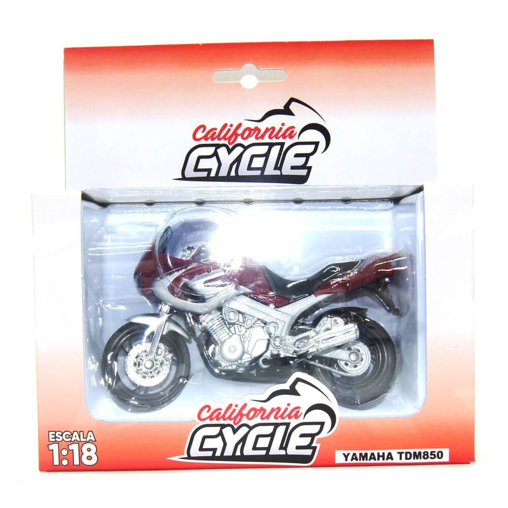 Miniatura Moto Yamaha TDM850 1/18 California Cycle