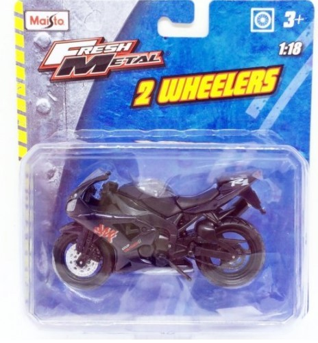Miniatura Moto Yamaha YZF R1 1/18 Maisto