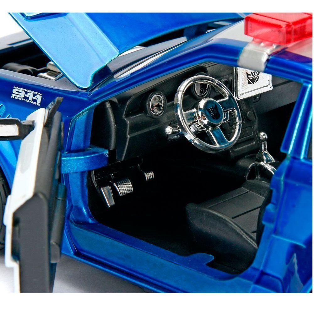 Miniatura Mustang Barricade Transformers 5 1/24 Jada Toys