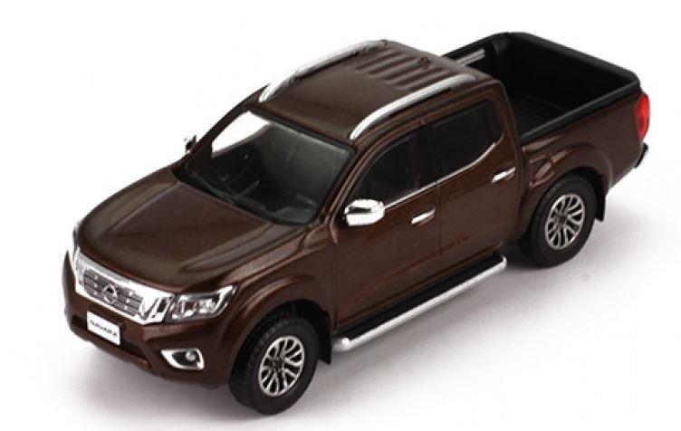 Miniatura Nissan Frontier Navara 2017 1/43 Premium X