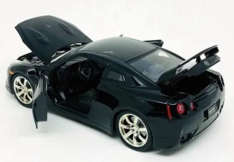 Miniatura Nissan GT-R 2009 Sem Caixa 1/24 Jada Toys