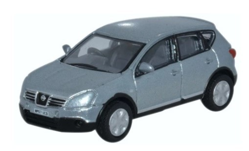 Miniatura Nissan Qashqai Metallic Faded Denim 1/76 Oxford