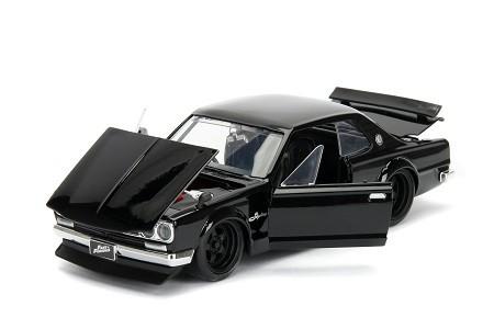 Miniatura Nissan Skyline GT-R 2000 Brian Velozes e Furiosos 1/24 Jada Toys
