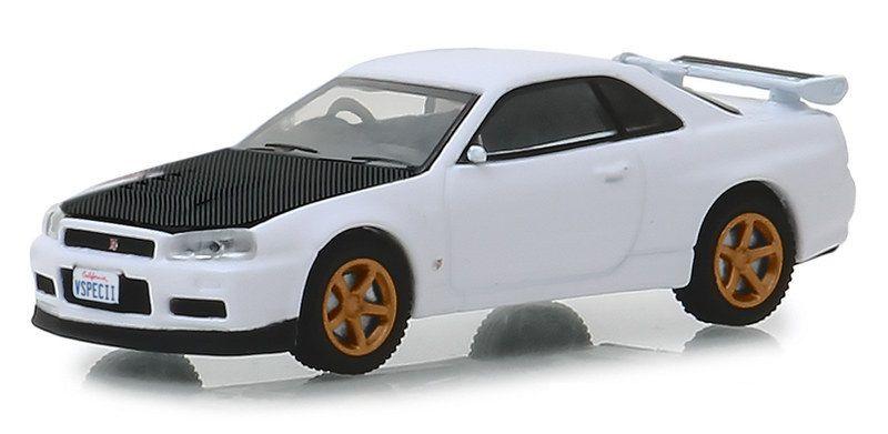 Miniatura Nissan Skyline GT-R 2001 Tokyo Torque 1/64 Greenlight