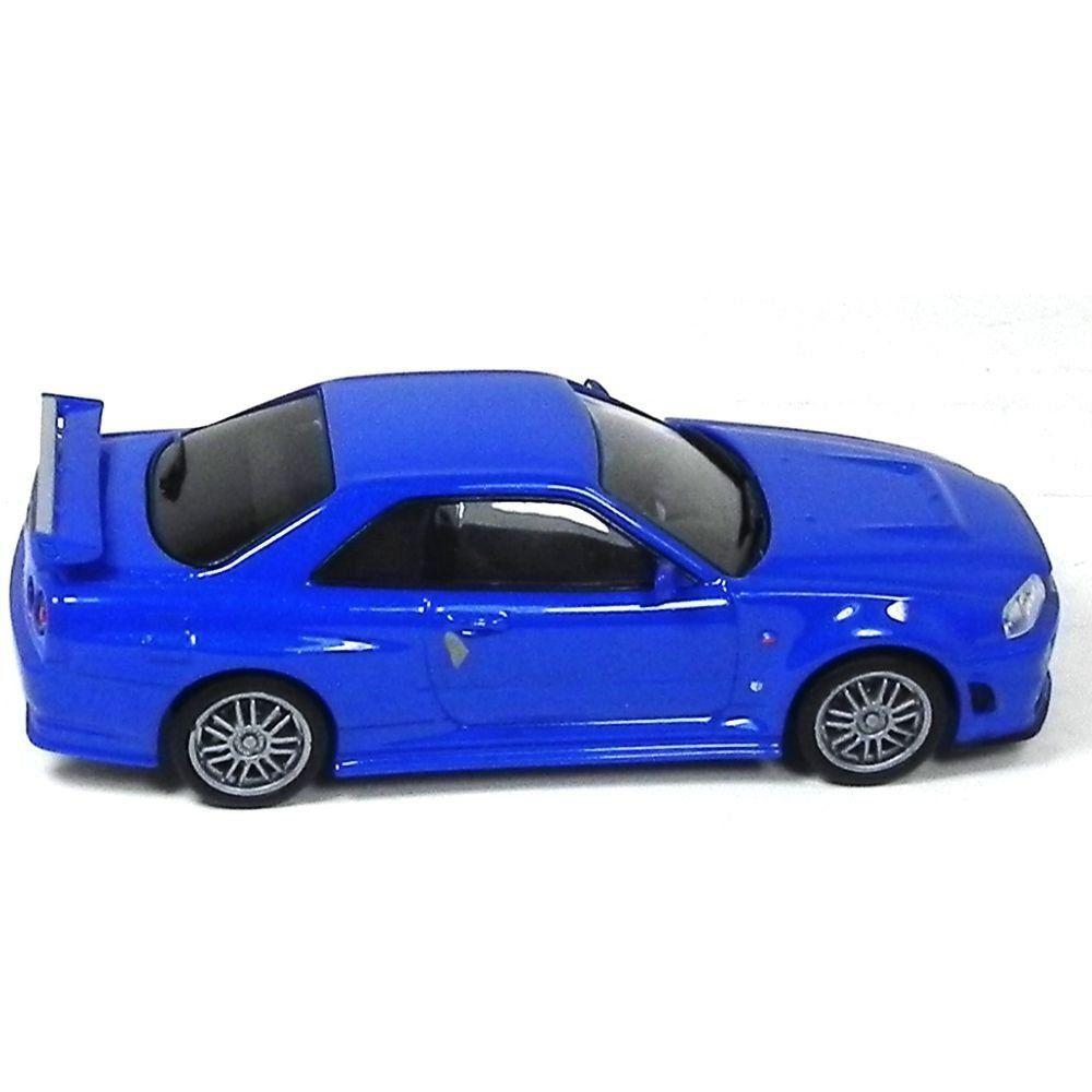 Miniatura Nissan Skyline GT-R Brian Velozes e Furiosos 4 1/43 Greenlight
