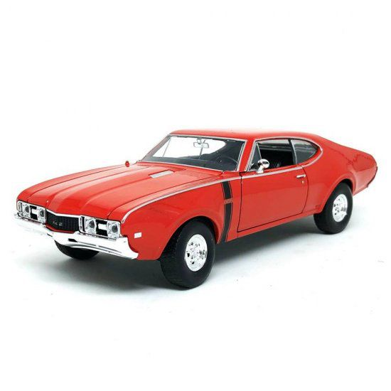 Miniatura Oldsmobile 442 1968 1/24 Welly