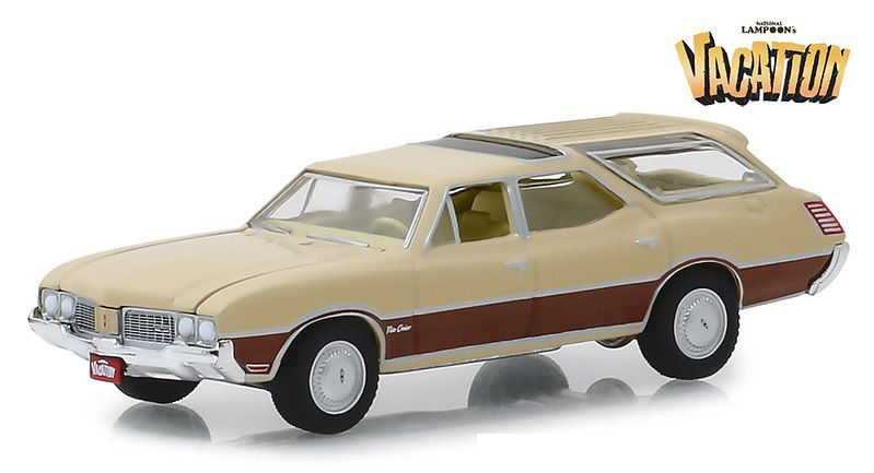 Miniatura Oldsmobile Vista 1970 Vacation 1/64 Greenlight
