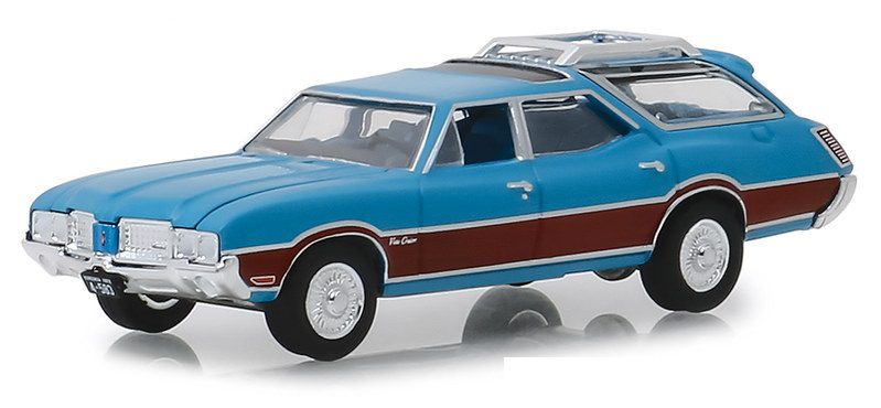Miniatura Oldsmobile Vista Cruiser 1972 Estate Wagons 1/64 Greenlight