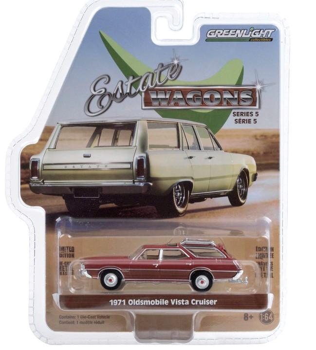 Miniatura Oldsmobile Vista Cruiser Matador 1971 1/64 Greenlight