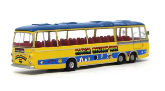 Miniatura Ônibus Bedford The Beatles Magical Mystery Tour 1/76 Corgi
