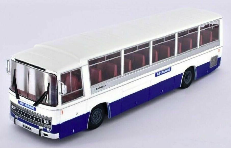 Miniatura Ônibus Berliet Cruisair Air France 1/43 Ixo Models Coleção Revista