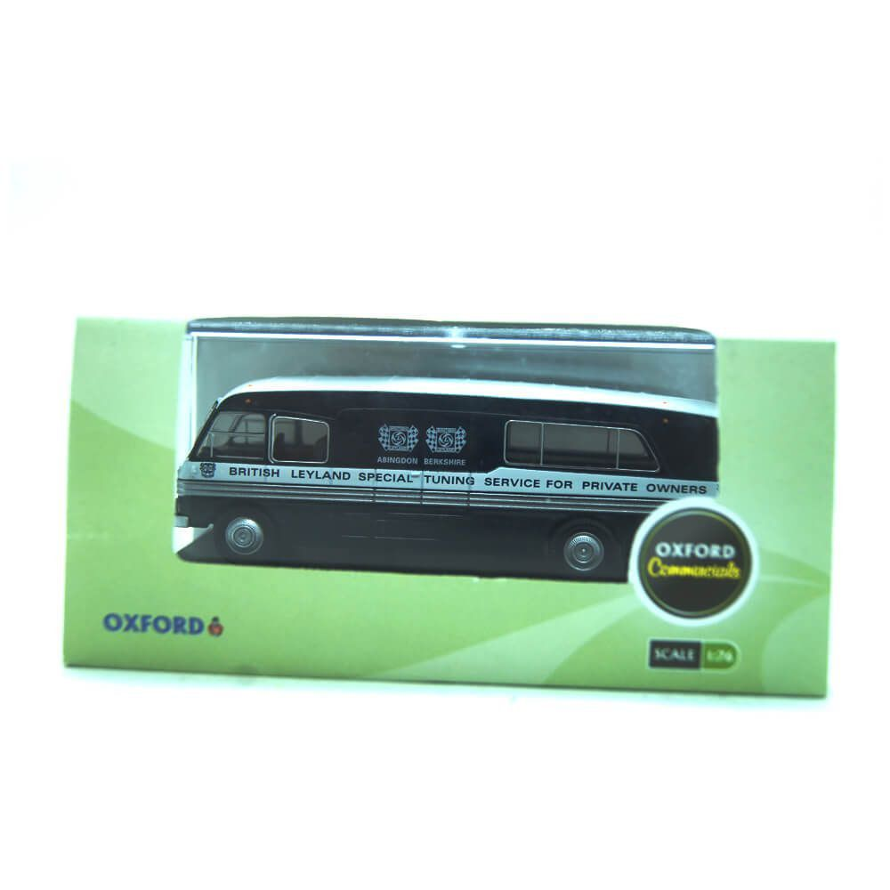Miniatura Ônibus BMC Mobile Unit Bl Special Tunin 1/76 Oxford