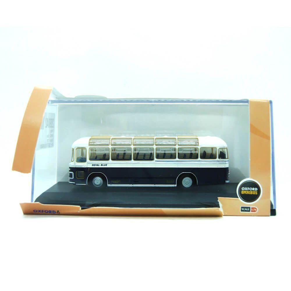 Miniatura Ônibus Bristol MW6G Azul 1/76 Oxford