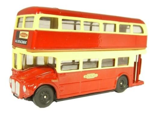 Miniatura Ônibus British Railways Routemaster 1/76 Oxford