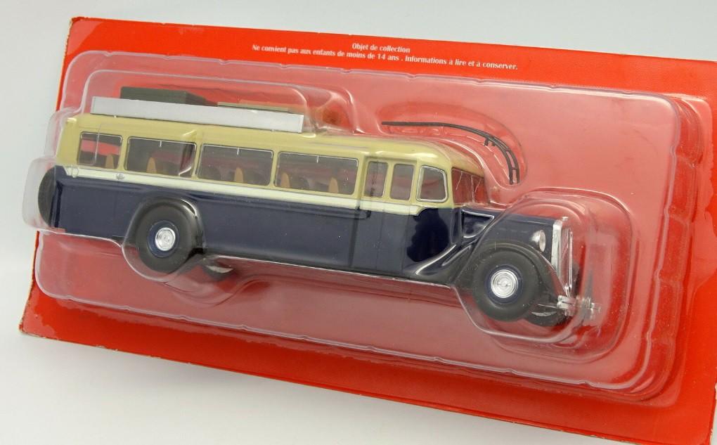 Miniatura Ônibus Citroen T45 1934 1/43 Ixo Models Coleção Revista